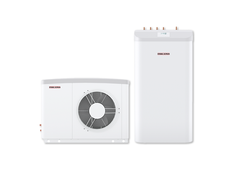 Set Wpl 17 Acs Classic Compact Lucht Water Warmtepompen Van